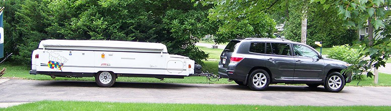 Pop Up Camper Weight Towing