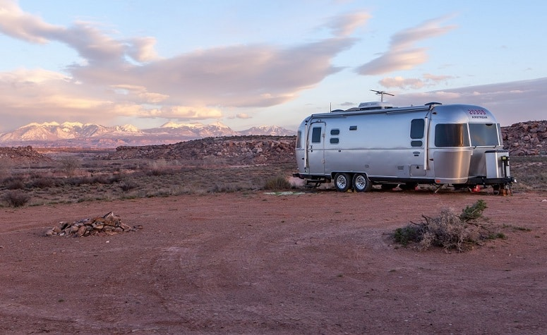 Travel Trailer Boondocking