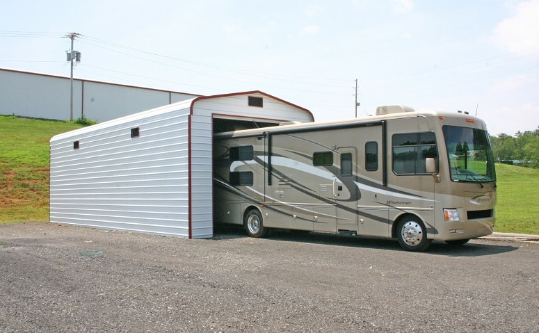 Parking RV In Garage
