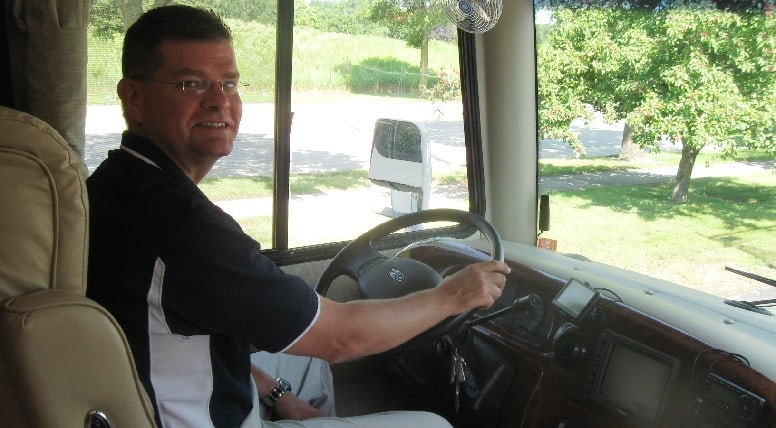 Driving your RV home