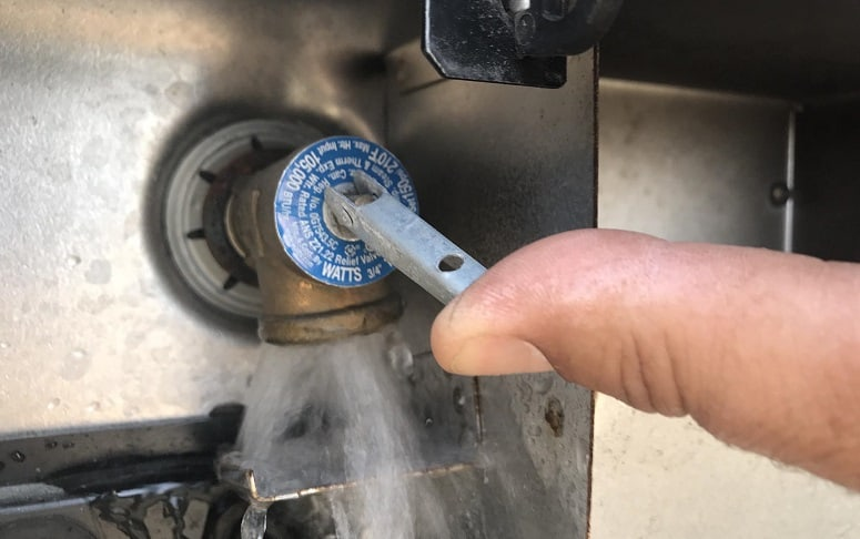 Turning Off Water Heater