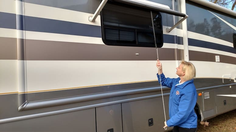 Secure your Awnings