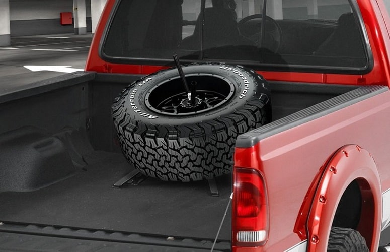 Pickup Spare Tire