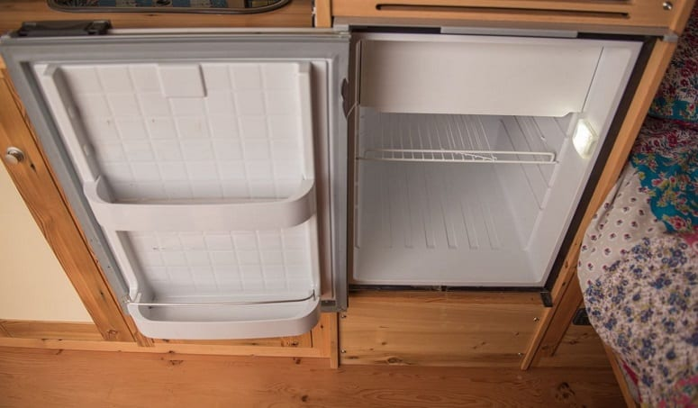 Small Trailer Fridge
