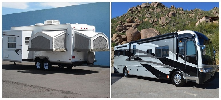 Travel Trailer And RV