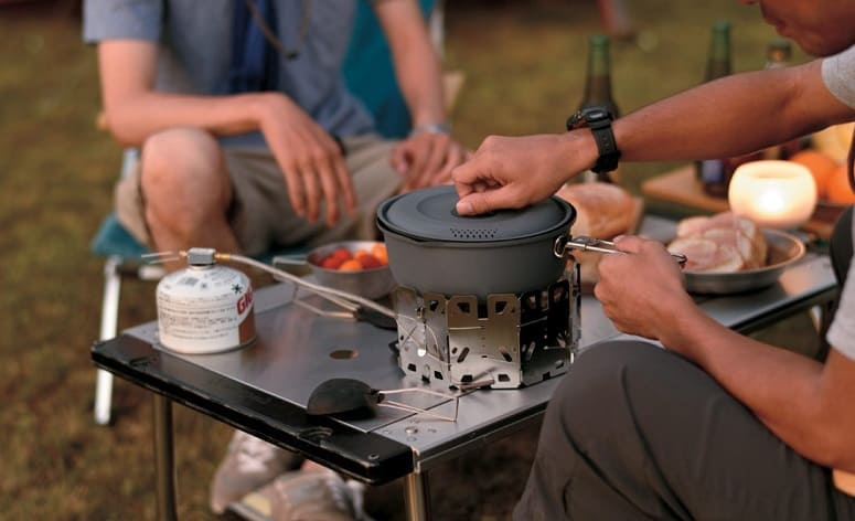 Cooking On Camp Stove