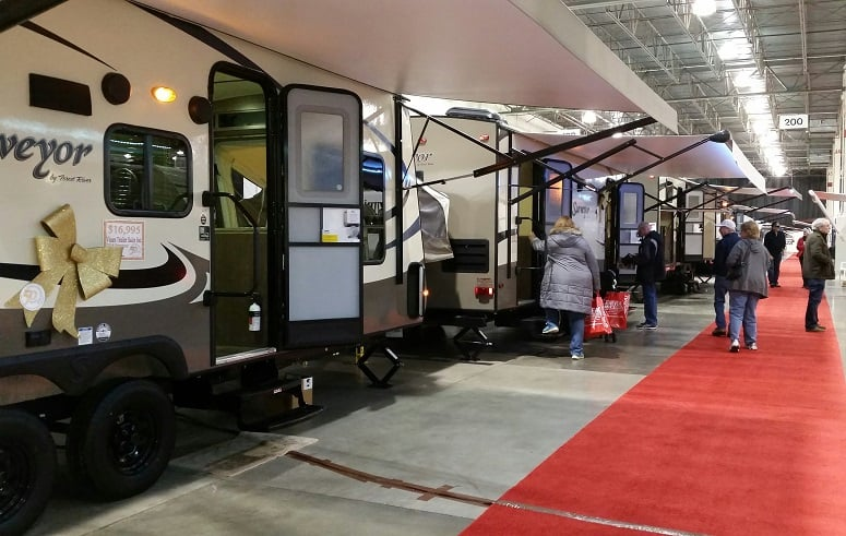 Visiting RV And Camper Show