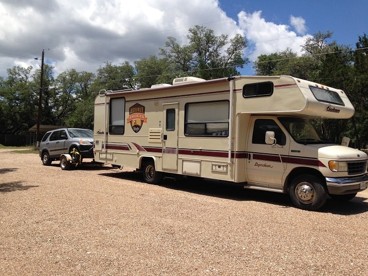 Class C RV Towing