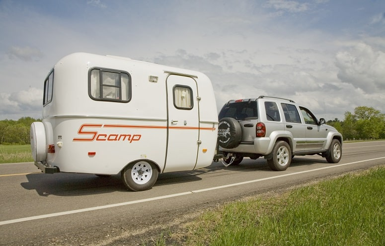 Towing A Lightweight Travel Trailer