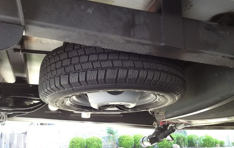 Underbelly Spare Tire