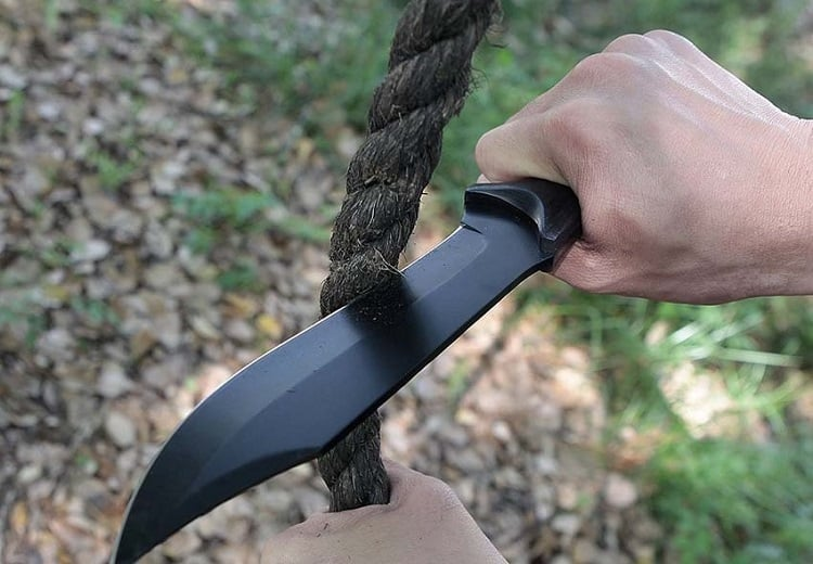 Camping Knife Cutting Rope