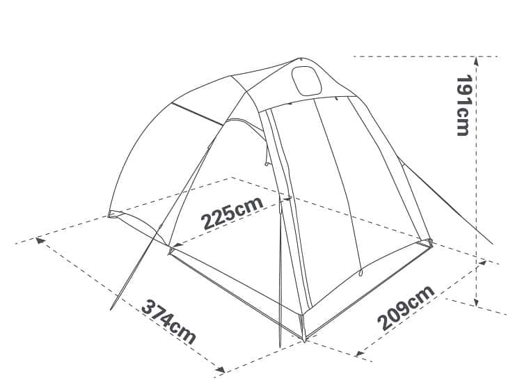 Camping Tent Dimensions
