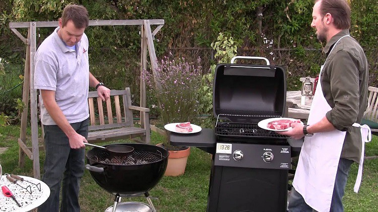 Charcoal or Gas grill