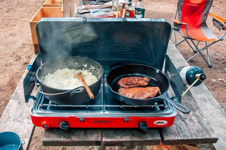Simple Cooking On Camping
