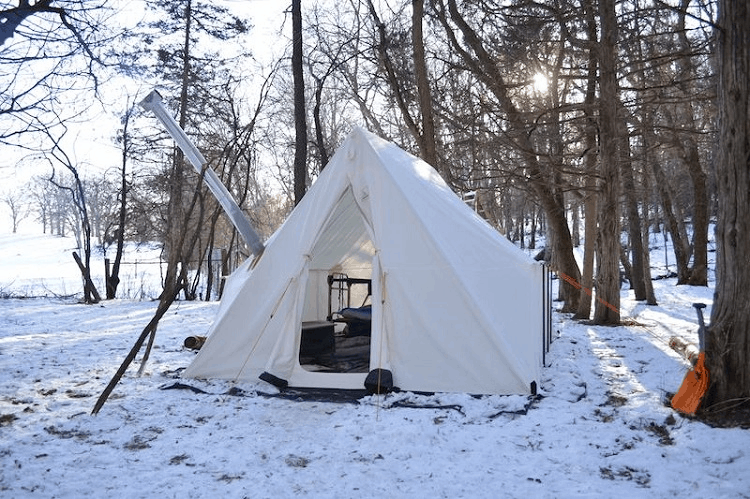 Winter Camping Tent Tips