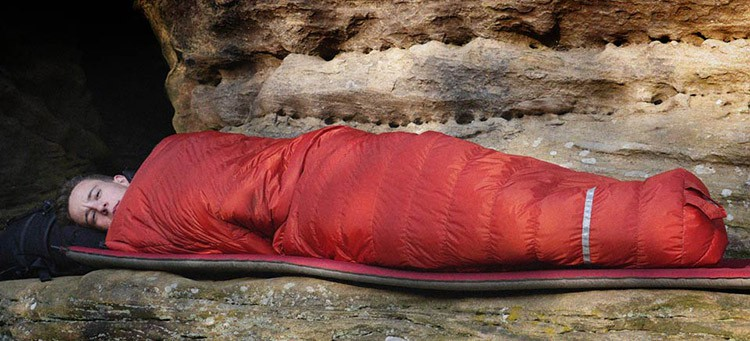 Sleeping Bag With Down Filling