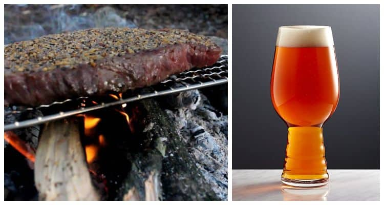 IPA and Campfire Steak