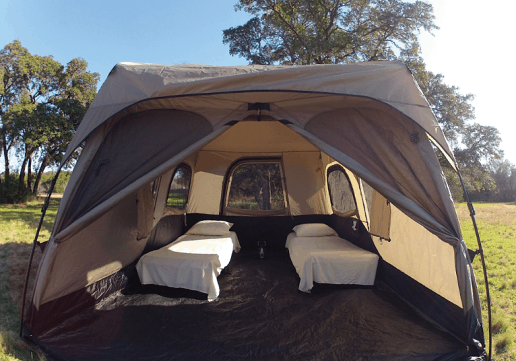 Camping Cots In Tent