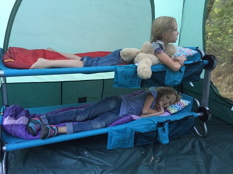 Camping Cots Size