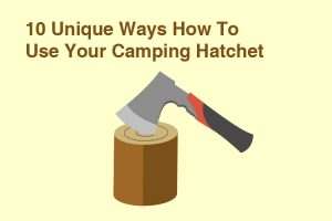 Camping Hatchet Uses