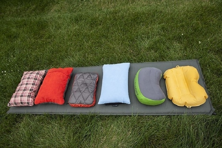 Camping Pillow Size