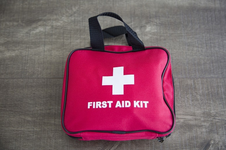 Bag Of First Aid Kit