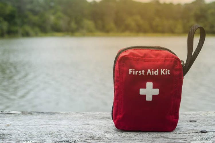 first aid kit camping
