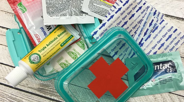Your Own Mini First Aid Kit