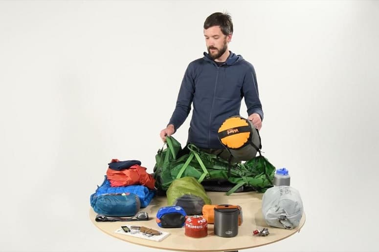 How To Pack A Backpack For Hiking 1
