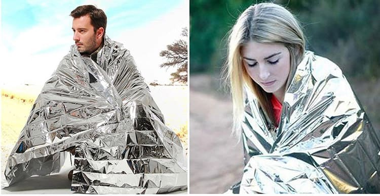 reflective blanket camping