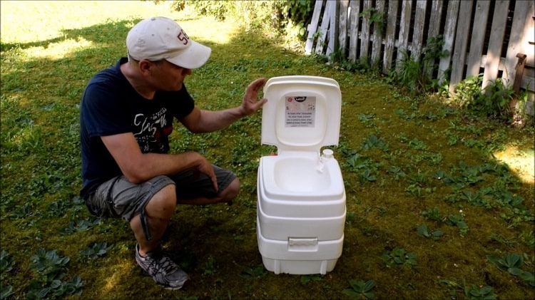 Small Camping Toilet