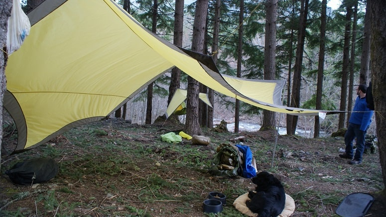 Camping With Tarps