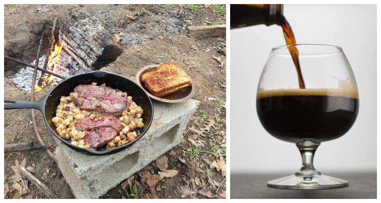 Imperial Stout and Venison