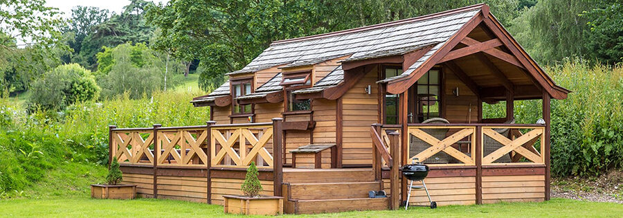 glamping in a cabin
