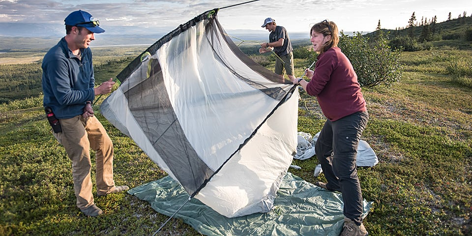 camping equipment and you