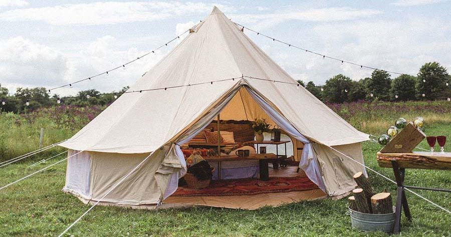 glamping tent recommendation
