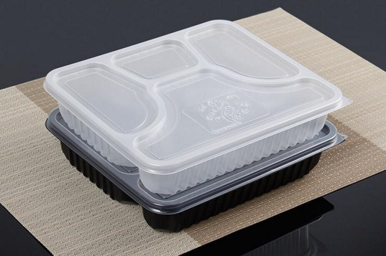 Empty Disposable Food Containers
