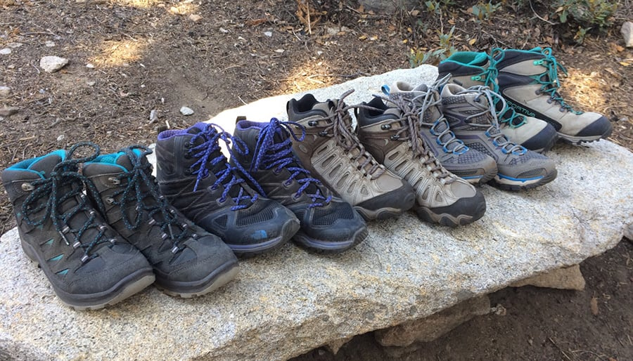 quality hiking boots