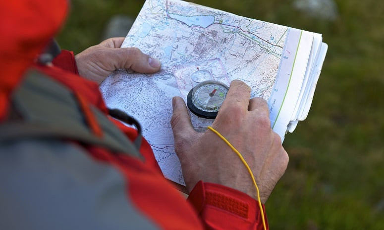 Using Compass And Map