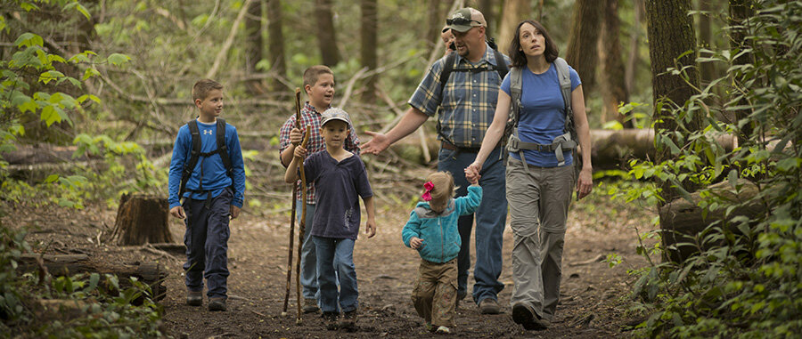 physical activity boosting camping