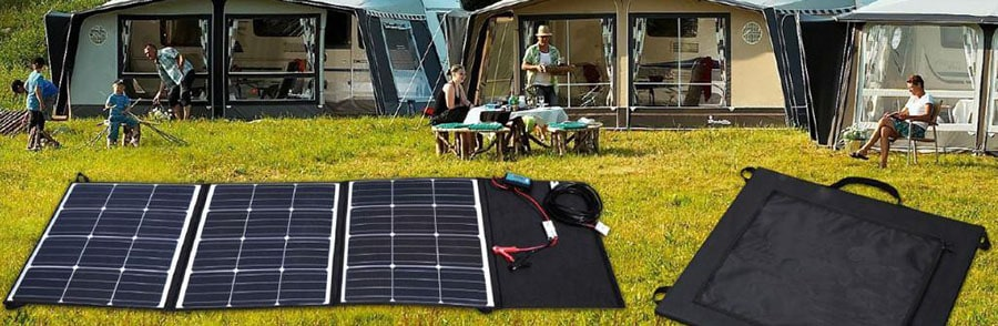 portable solar panels can charge anything