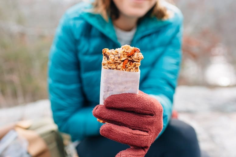 Holding Protein Bar