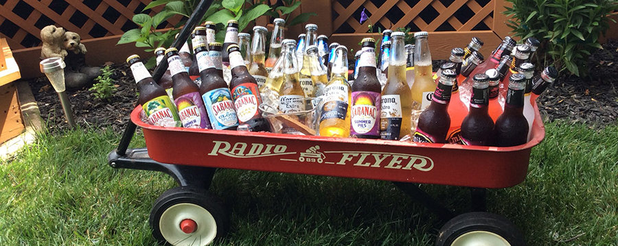 radio flyer wagon cooler
