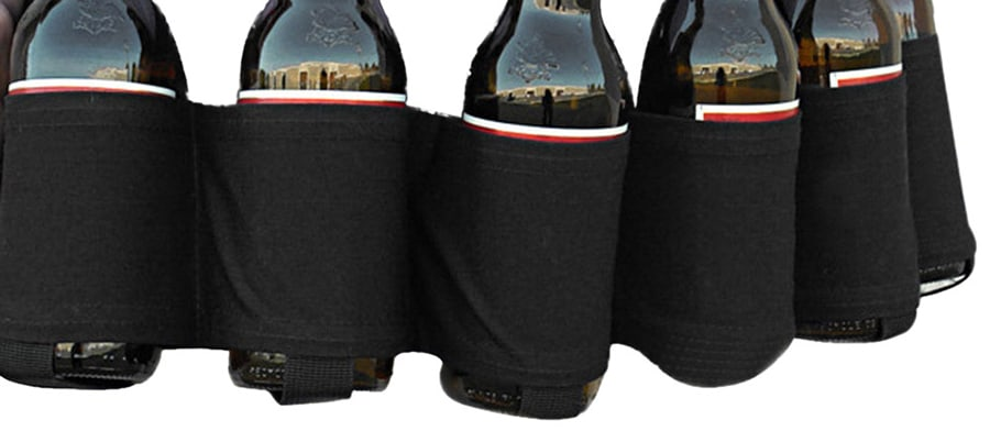 nylon straps beer bottle holder