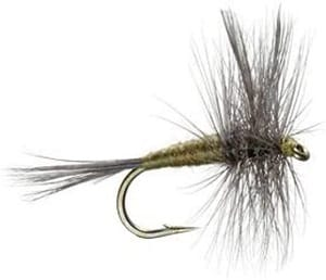 The Fly Fishing Place Blue Winged Olive BWO Classic Trout Dry Fly