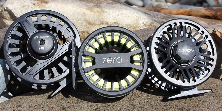 Different Fly Fishing Reels