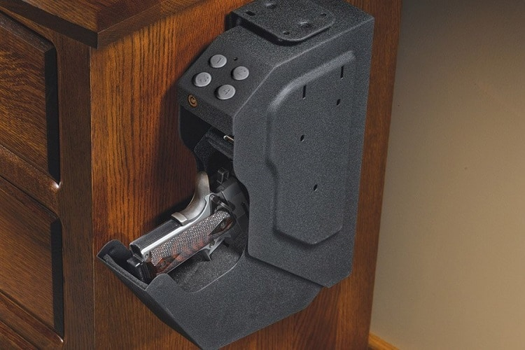 WHAT IS A GUN SAFE MADE OF?
