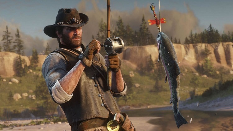 Fishing in Red Dead Redemption 2