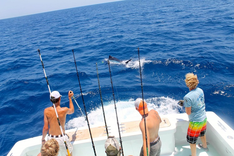 best type of fishing charter boats