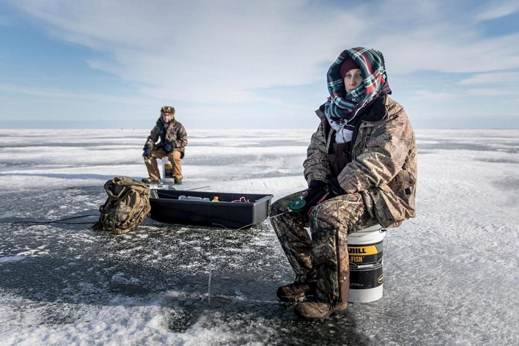 clothes for ice fishing